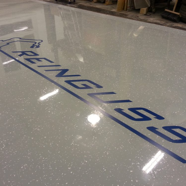 Dizajnová liata podlaha
